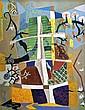 John McHugh (1918-1995) Untitled (Garden)