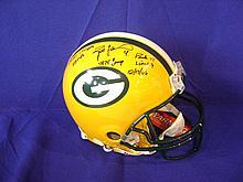 Brett Favre autographed  helmet