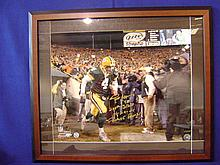 Brett Favre autographed print dated 11/29/2004