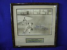 Autographed photograph of Don Larsen