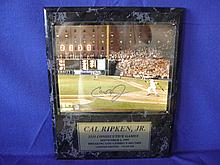 Autographed photograph of Cal Ripkin Jr.