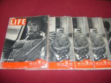 Lot of 12 Issues of Life Magazine
