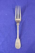 T. W. Radcliffe Sterling Silver Fork