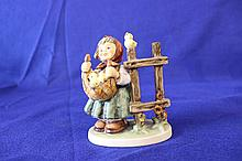 #385 Chicken Licken Hummel Figurine