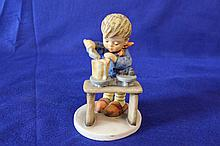 #345 A Fair Measure Hummel Figurine