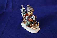 #396 Ride into Christmas Hummel Figurine