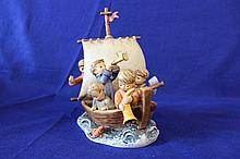 #530 Land In Sight Hummel Figurine