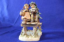 #472 On Our Way Century Collection Hummel Figurine