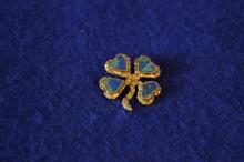 Native Gold Nugget Pin