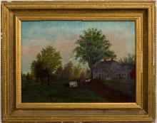 (19th c.) American Folk Art Painting