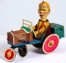 1939 Marx Edgar Bergen Tin Litho Wind-Up Car
