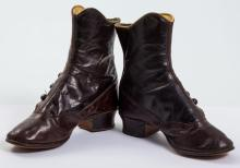 Pair of Fancy Victorian Leather Child's Boots