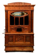 Belgian Coin Operated Barrel Orchestrion Music Box