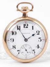 Hamilton Watch Co 21 Jewel Pocket Watch