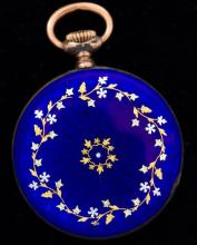Small Enameled Pocket Watch