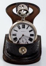 Tiffany & Co. Nickel Railroad Pocket Watch