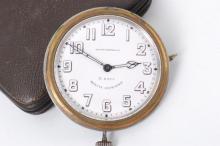 C H Baillot Swiss Minute Repeater Travel Clock