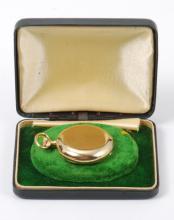 1910 Tiffany & Co. 18K Gold Lady's Pocket Watch