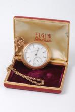 Elgin Nat. Watch Co. Gold Filled Pocket Watch