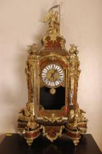 Monumental 19th c Louis XIV Style Boulle Clock