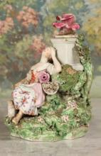 Figural Porcelain Grouping