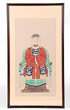 (19th c.) Chinese Ancestral Portrait