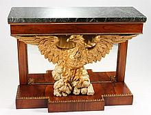 Regency Period Pier Table with Carved Eagle