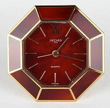 Jaccard Paris Quartz Travel Clock