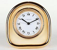 Cartier Paris Travel Clock Swiss Made
