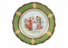 (19th c.) Royal Vienna Porcelain Plate