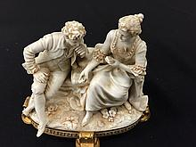 French Porcelain Bisque Figurine