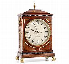 (19th c.) Grant London Shelf Clock w/ Chime