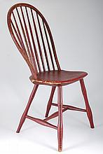 (19th c.) Balloon Back Windsor Side Chair