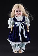 18 inch German Armand Marseille Bisque Head Doll
