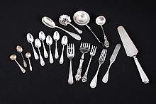 Assortment of Sterling Silver Serving Pieces