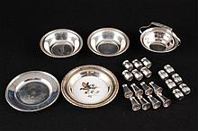 Assortment of Sterling Silver Table Wares