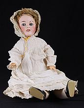 Antique French Bisque Head Doll Signed Ed Tasson
