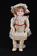 Antique French Bisque Head Doll w/ Composite Body