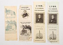 William H. Harrison for President Campaign Ribbons