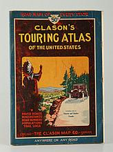 Early 20thc. Touring Maps of the United States Etc