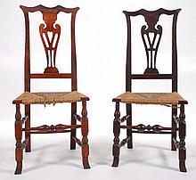 (18th c.) Queen Anne/Chippendale Side Chairs