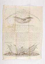 Martin Van Buren 11/1/1837 Appoints Lewis Arnold