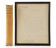 President Theodore Roosevelt Signed Letter 1907