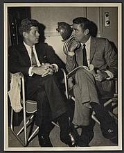 John F. Kennedy and Peter Lawford