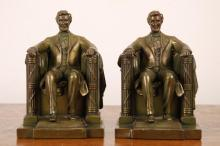 Jennings Brothers Daniel Chester French Bookends
