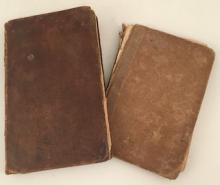 SCHOLAR'S ARITHMETIC 1802 /HISTORY OF HINGHAM 1827