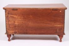 19TH CENTURY WALNUT BLANKET BOX