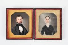 MATHEW B. BRADY NEW YORK CASE MAKER W/ MINIATURES