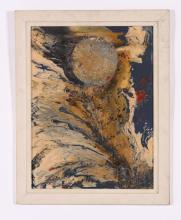 (20th c) AMERICAN SCHOOL NYC ABSTRACT