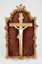 (18th / 19th c) FRENCH IVORY CRUCIFIX